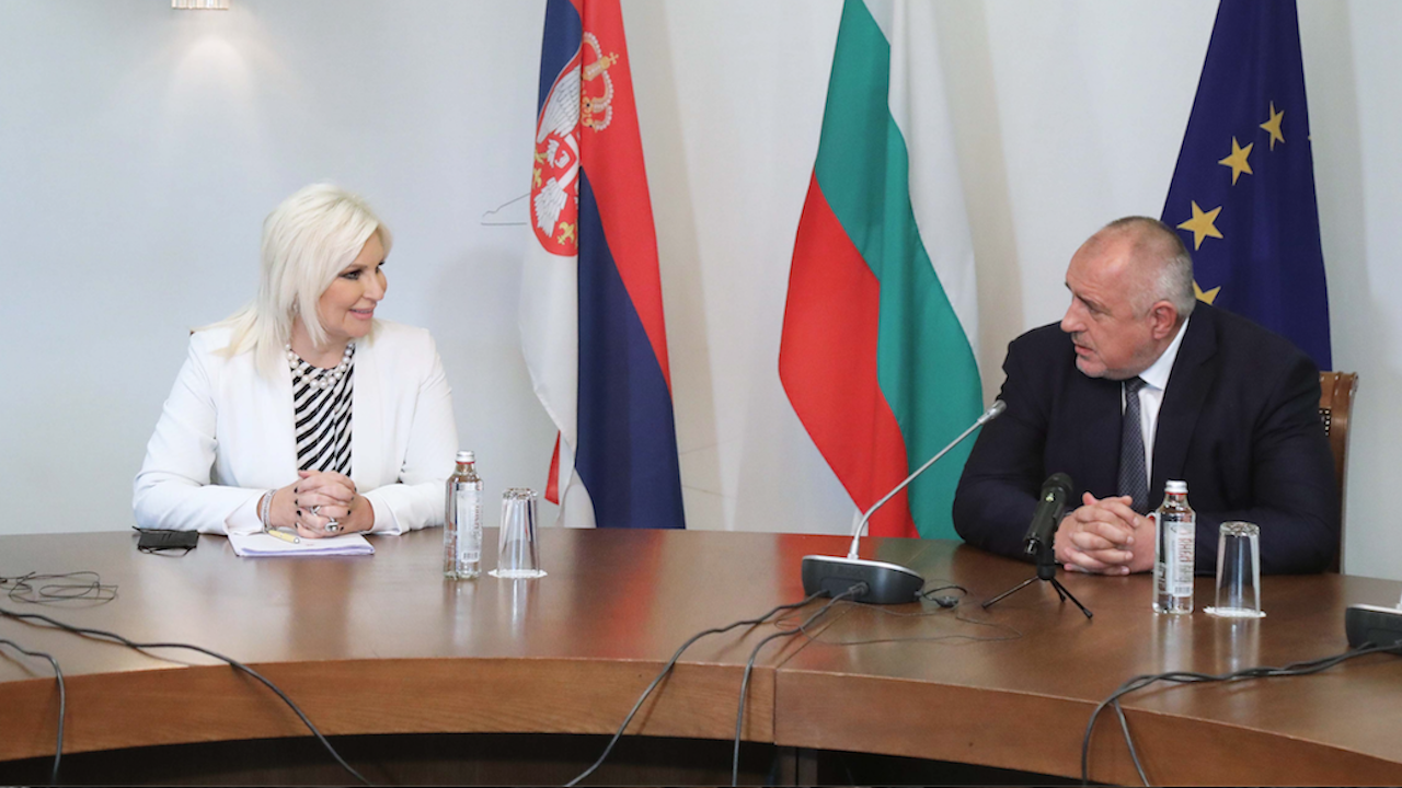 Борисов към сръбския вицепремиер: С магистралите, които правим, от Белград до Варна и до Бургас ще се стига без светофар