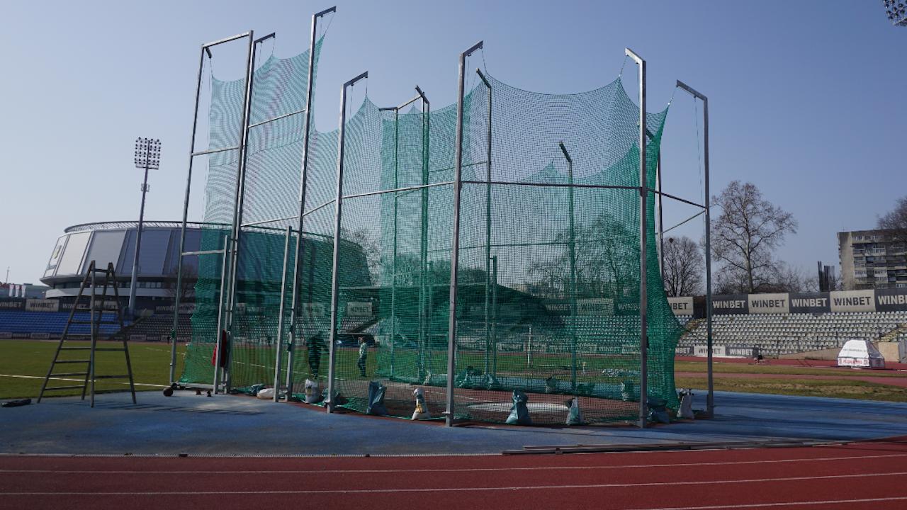 Шест големи обекта от спортната инфраструктура са реновирани в Русе за година
