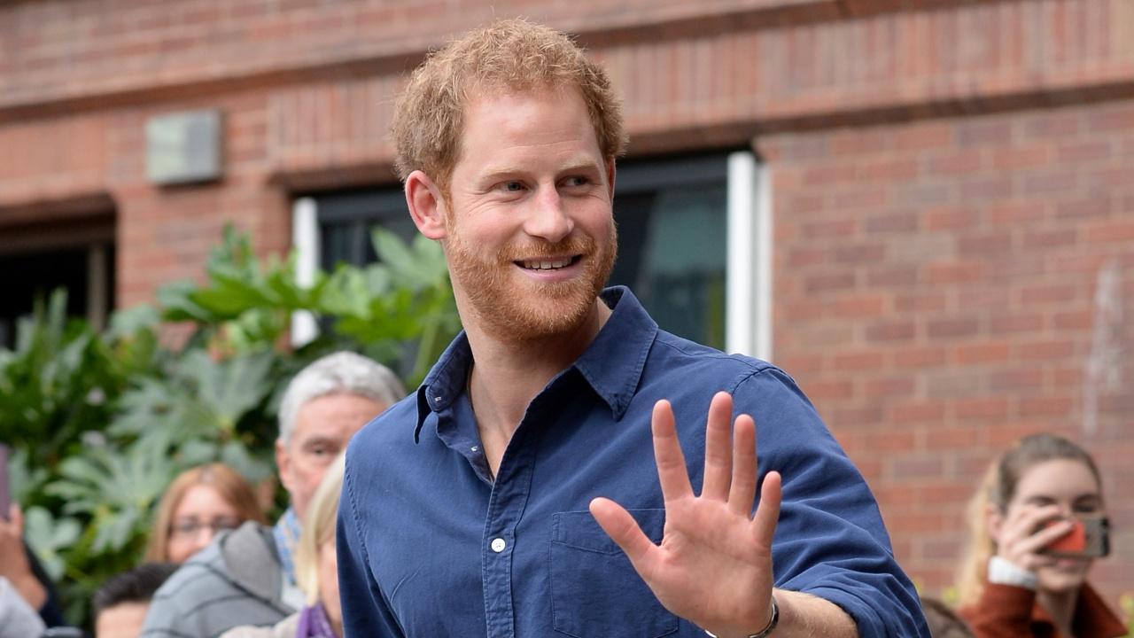 Принц Хари рапира в телевизионно шоу в САЩ