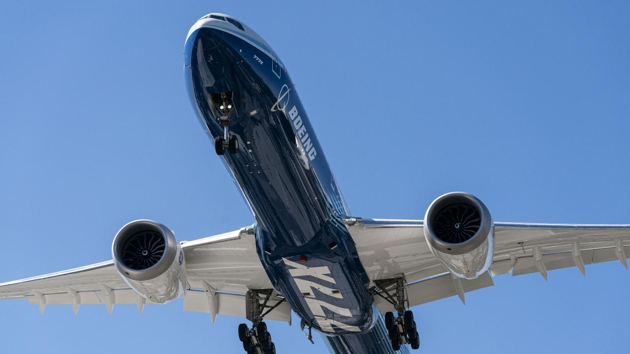 Нова авария с двигател на Boeing 777
