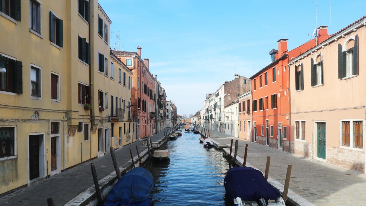 Някои канали във Венеция пресъхнаха