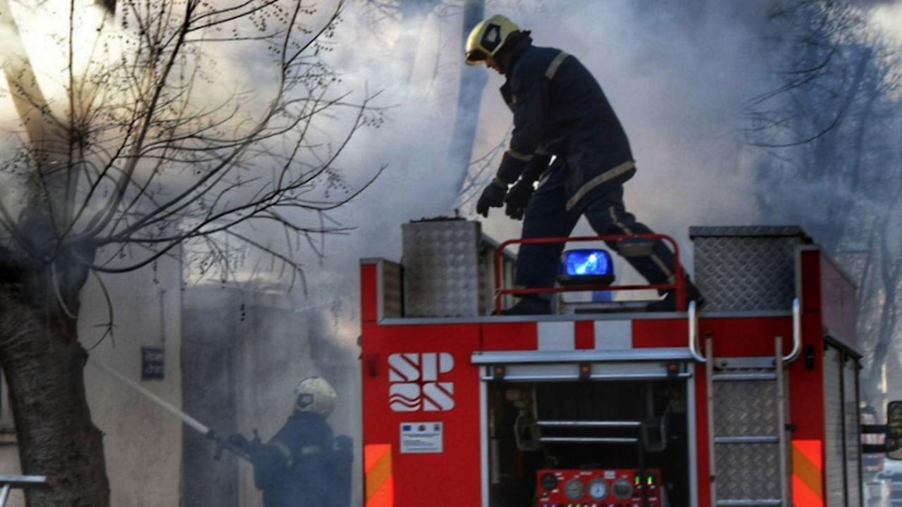 Мъж пострада при пожар в Банско