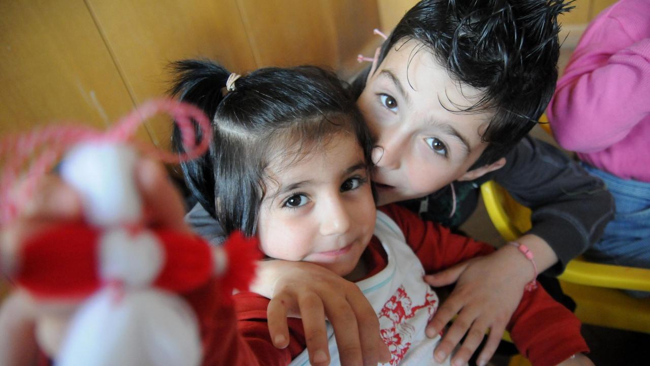 Мартеница за всяко дете в община Опака