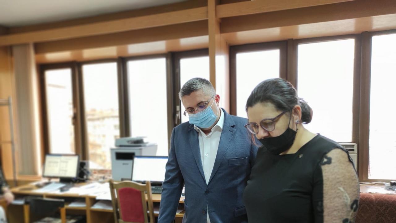 Николай Нанков регистрира листата на коалиция ГЕРБ-СДС в Ловеч