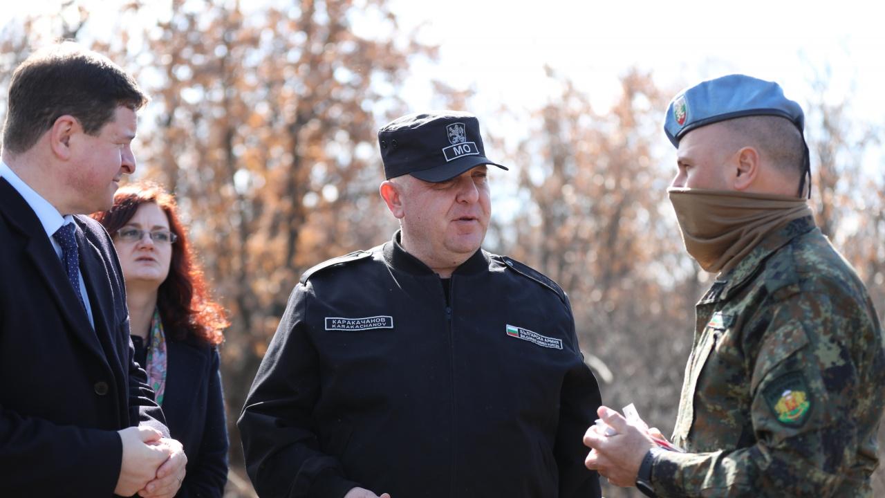 Каракачанов: Съвместните подготовки развиват умения и качества в общ интерес