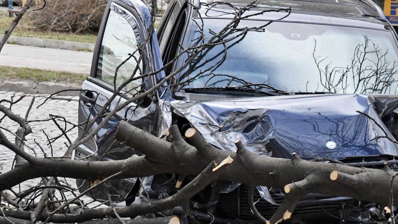 Шофьор пострада при меле на пътя Исперих-Разград