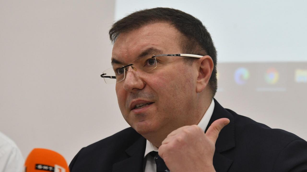 Министър Ангелов представя електронния регистър за ваксинация