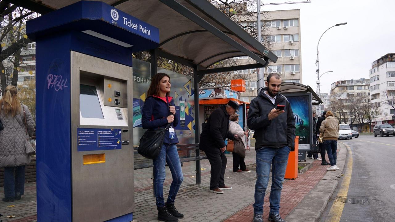 За седмица са закупени 8 500 електронни билета за градски транспорт в столицата