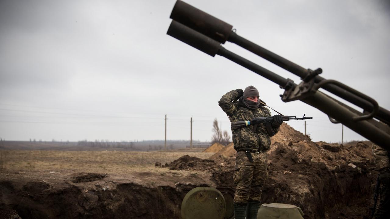 Киев поиска помощ за спиране на ескалация на насилието със сепаратистите