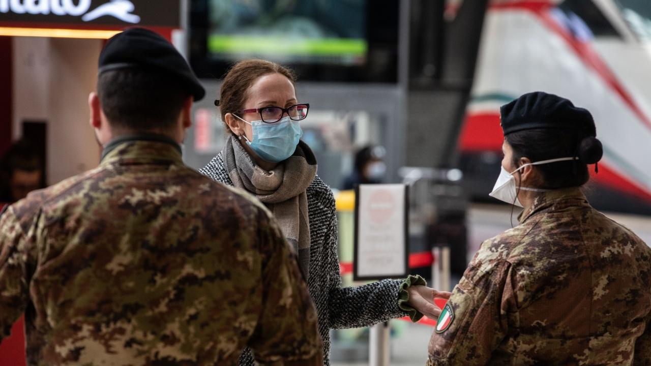 Три италиански области затягат мерките срещу коронавируса