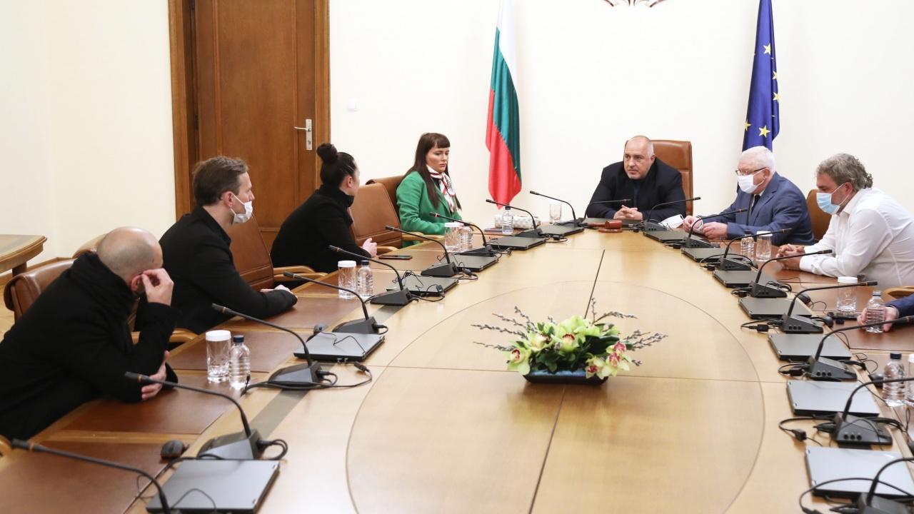 Борисов на среща с Рут Колева и Орлин Павлов: Отпускат пари за музиканти на свободна практика
