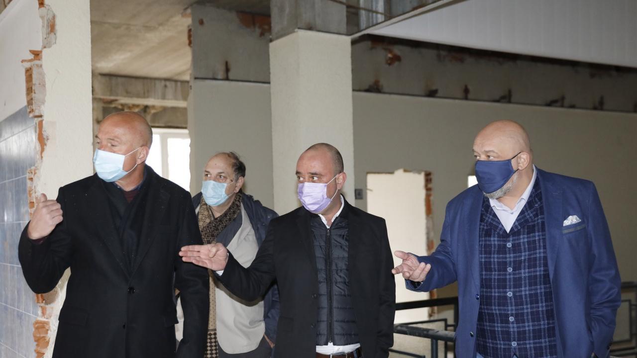 """СБАЛТОСМ """"Проф. д-р Димитър Шойлев"""" се мести в нова сграда"""