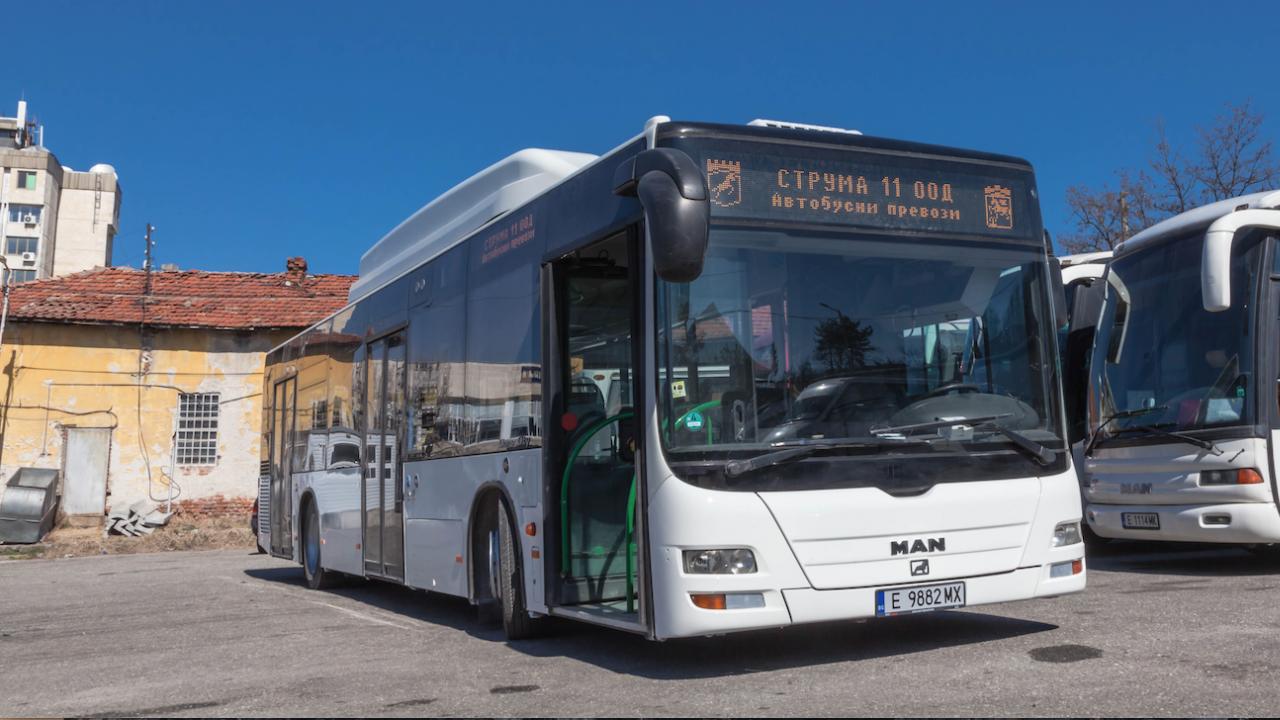 Още два автобуса с модерна информационна система тръгват в Благоевград до дни