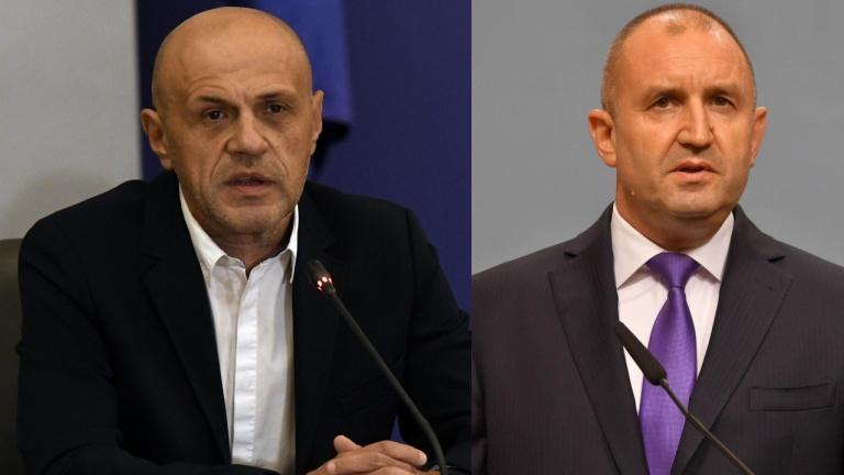 Президентът Радев отговори на Томислав Дончев