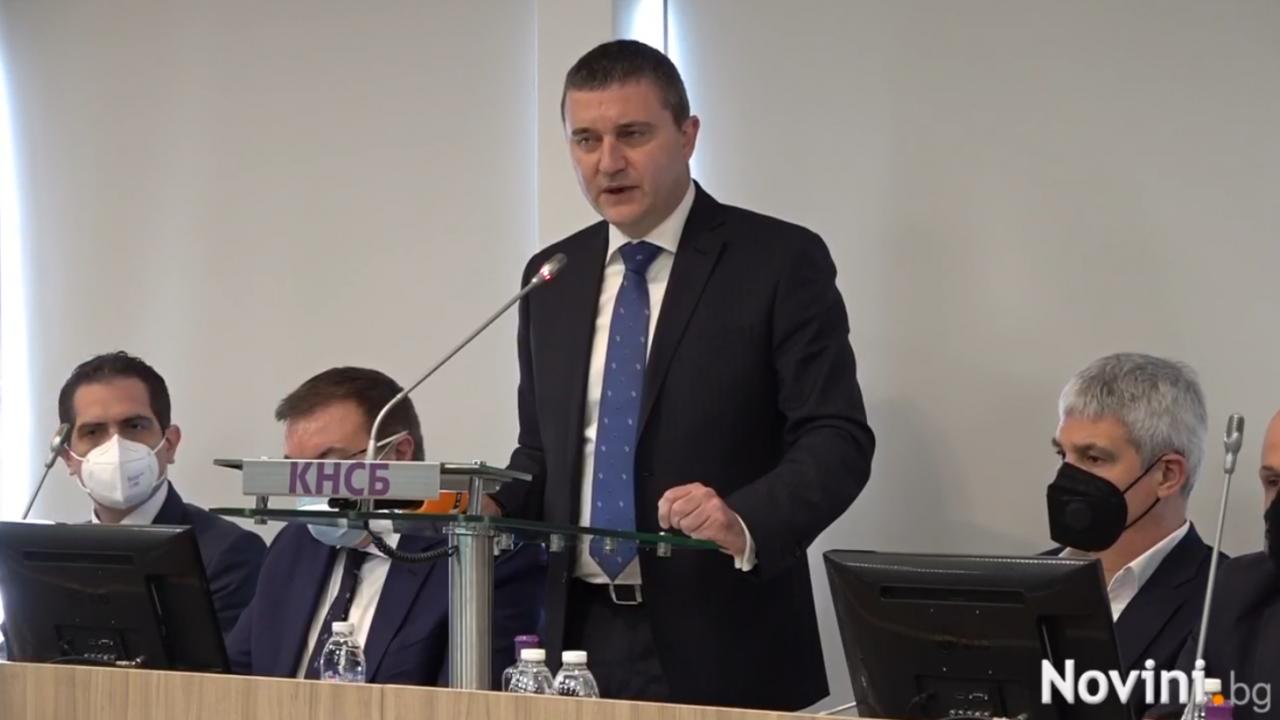 Владислав Горанов категоричен: Данъците няма да се вдигат!
