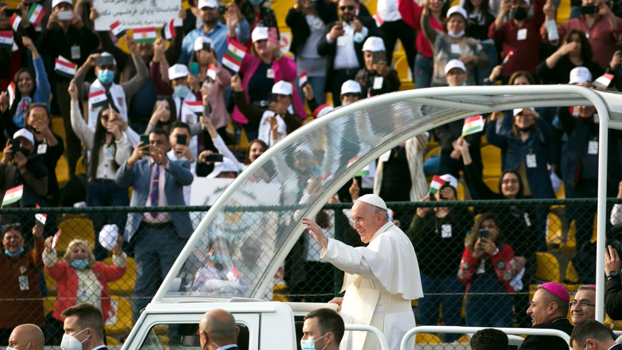 Папата защити решението си да посети Ирак въпреки риска от COVID-19