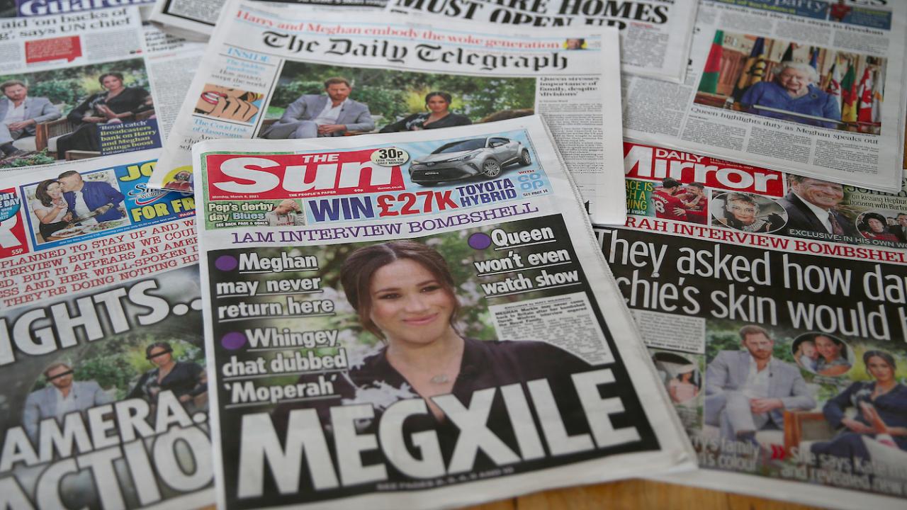 Почти половината от британците осъждат интервюто на принц Хари и Меган Маркъл