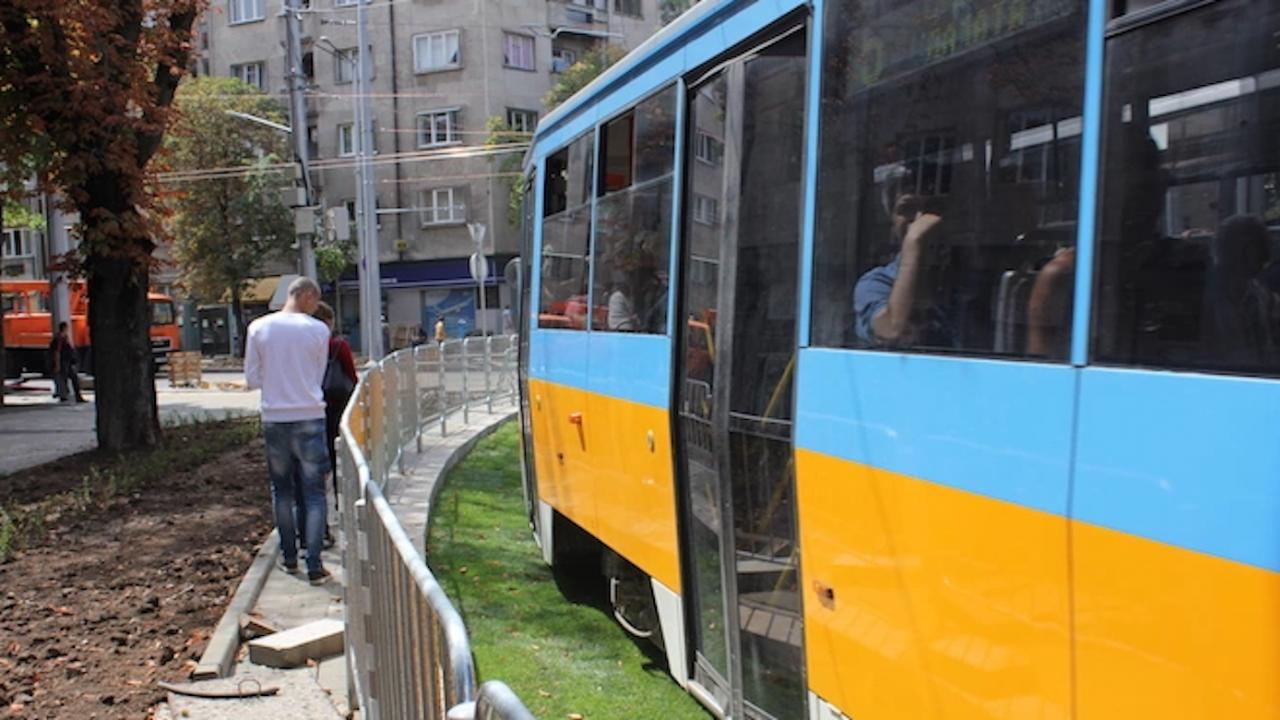 От днес трамвай 20 е с приоритет на светофарите, пътниците ще пътуват по-бързо