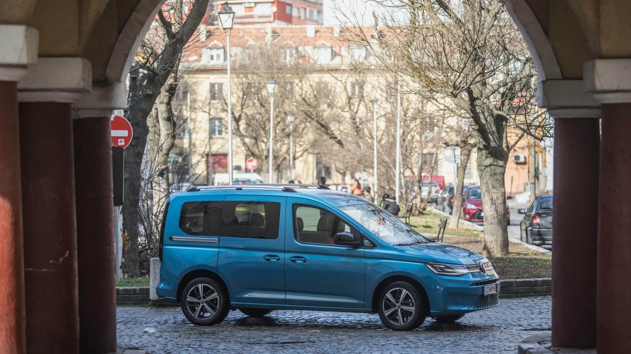 Новият Volkswagen Caddy, който бързо може да се превърне в най-добрия ти приятел