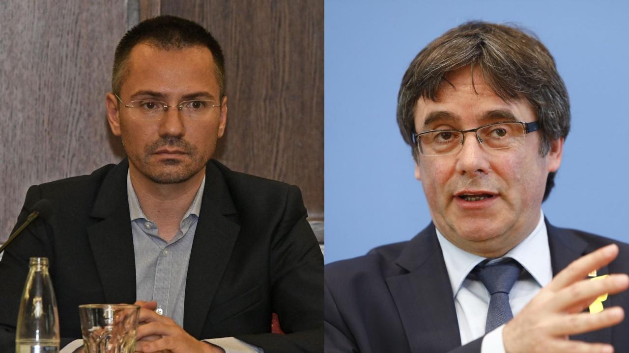 Ангел Джамбазки се закани на Пучдемон и влезе в испанските новини