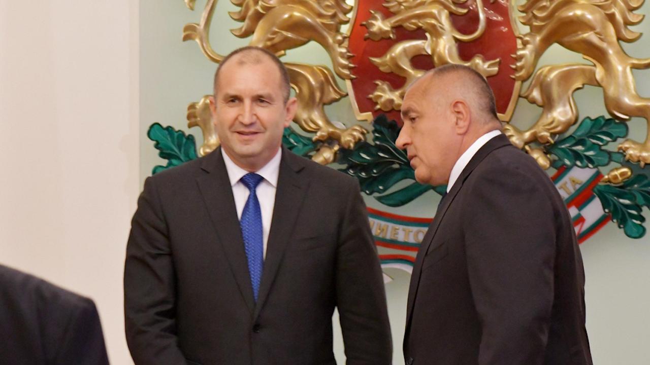 Изненадващо проучване за Борисов и Радев преди изборите