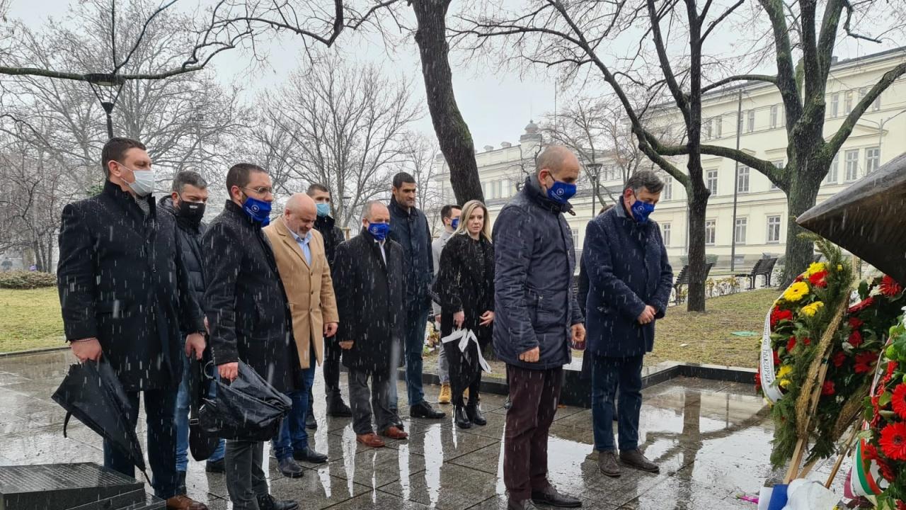 Републиканци за България почетоха паметта на жертвите на Холокоста