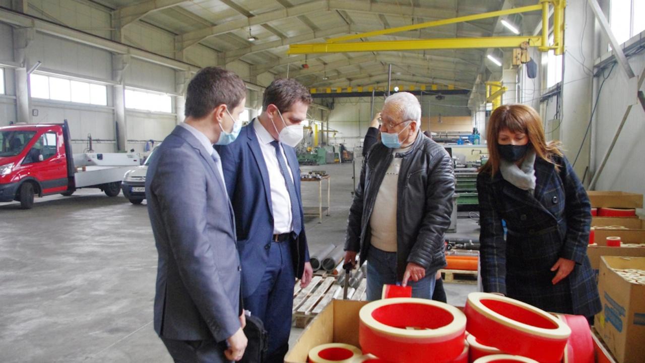 Лъчезар Борисов в Казанлък: В година на пандемия управлението на ГЕРБ запази работните места и потреблението