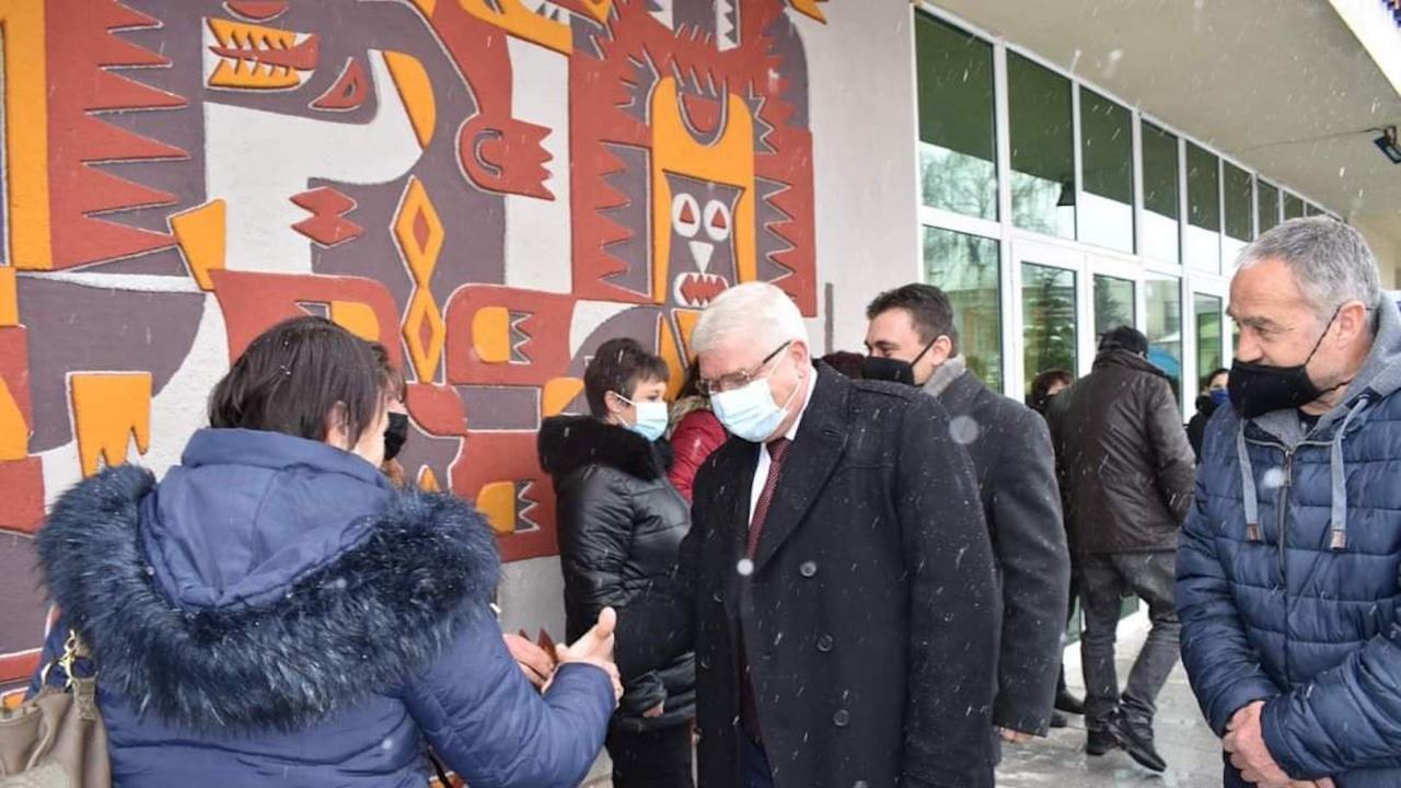 Кирил Ананиев в Брезник: Ще работим за европейско развитие и модернизация на българските общини