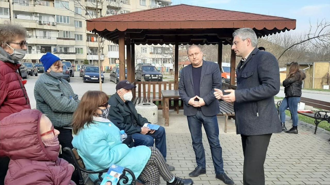 Станислав Стоянов, кандидат за депутат:  Националната програма за санирането на блоковете е сред основните приоритети на ГЕРБ-СДС