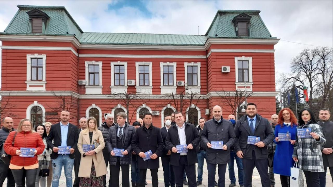 Павел Вълнев и Цветан Цветанов дадоха старт на предизборната кампания и в Кюстендилско