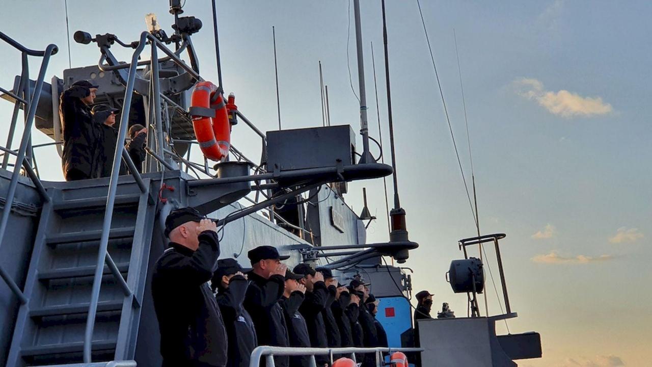 """Фрегата """"Смели"""" отплава за участие в международно учение на НАТО"""