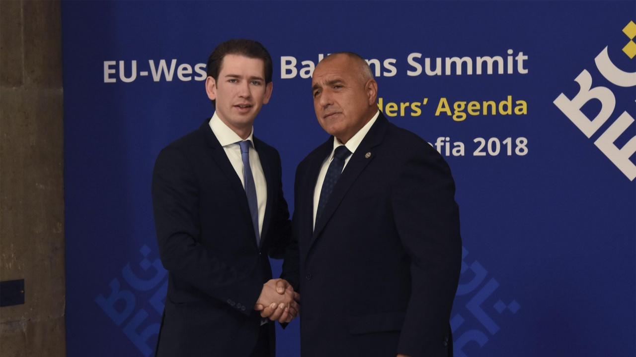 Борисов се чу със Себастиан Курц, напомни добрата организация на България в началото на пандемията