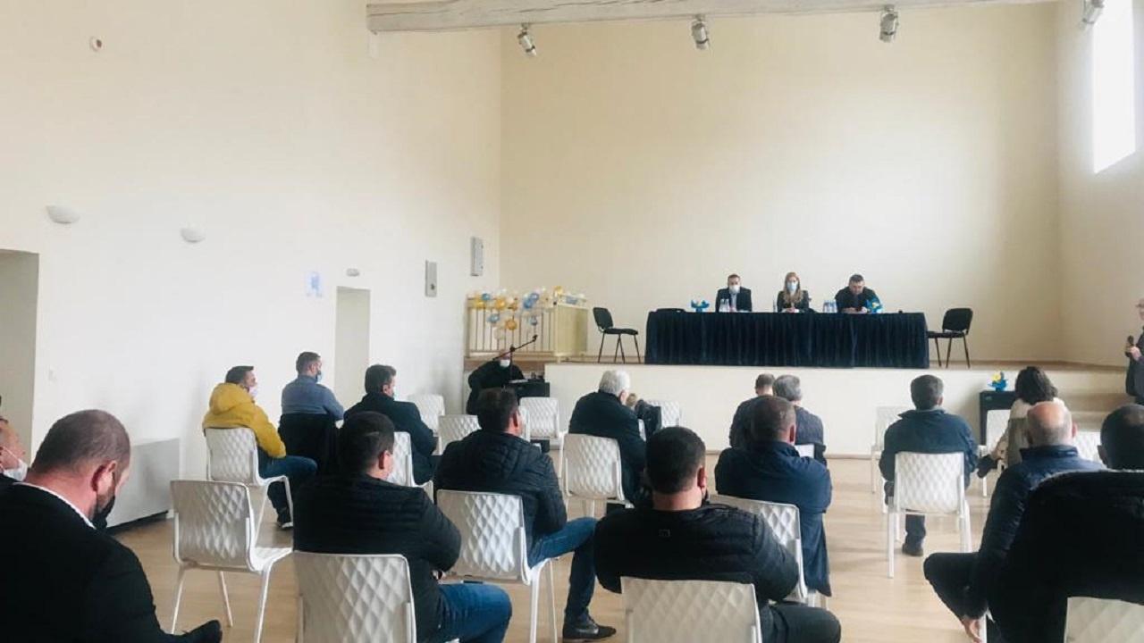 Младен Маринов и Николина Ангелкова представиха програмата на ГЕРБ пред  бизнеса от Божурище и Сливница