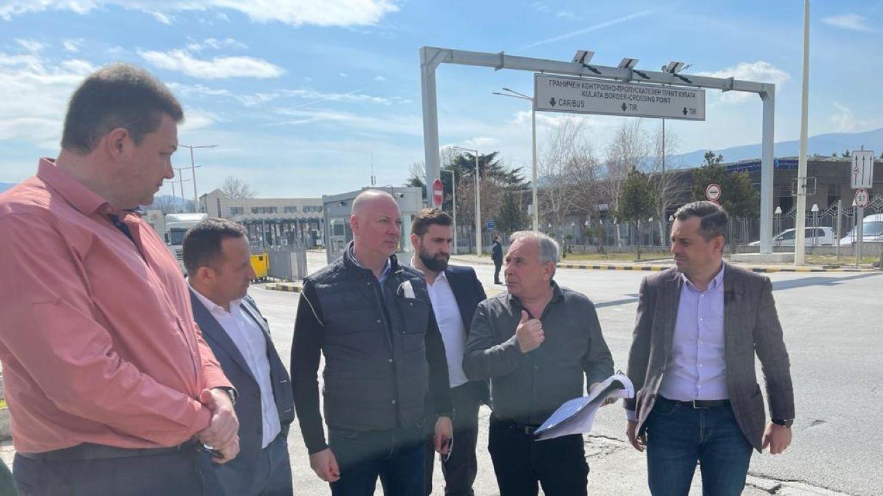 Росен Желязков: На ГКПП-Кулата започва изграждането на трета допълнителна лента