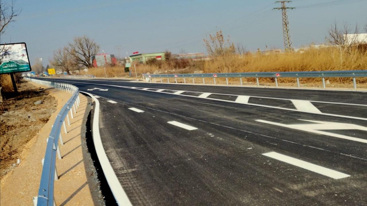 Борисов показа ремонтирания участък от Околовръстния път на Пловдив