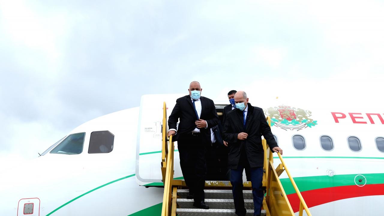 Бойко Борисов пристигна във Виена