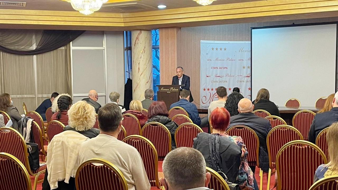 Красимир Вълчев, водач на листата на ГЕРБ-СДС в Стара Загора: Учителят е най- важният фактор за добро образование