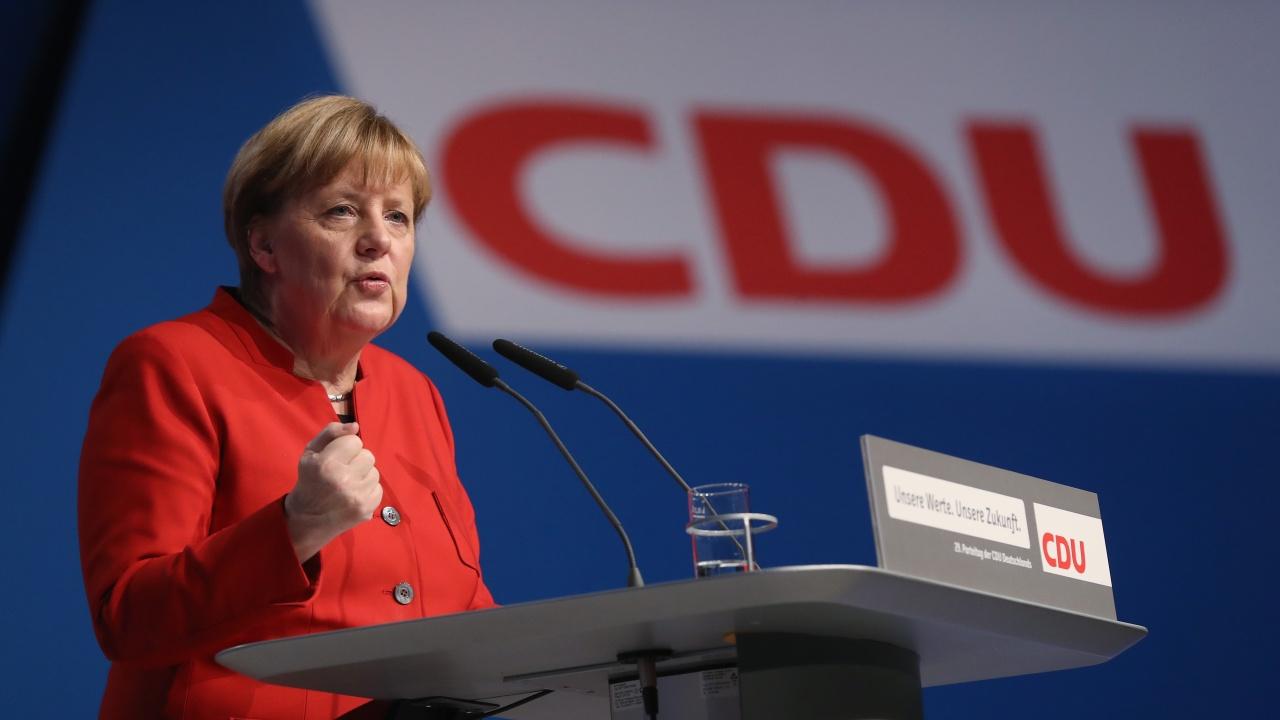 Рекордно ниска подкрепа за ХДС на Меркел