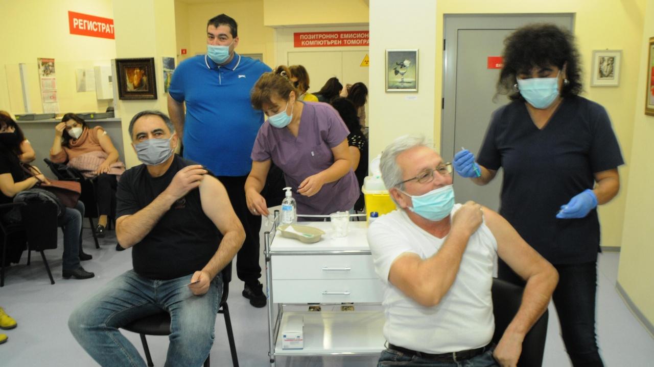 """Александровска болница"" дава сертификати за ваксина"