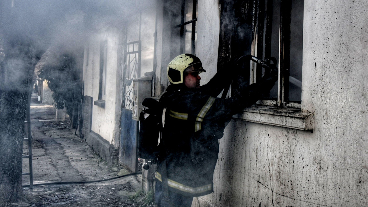 98-годишна жена е намерена в безпомощно състояние при пожар в Самоков