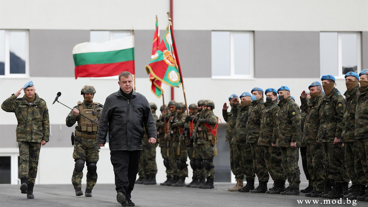 Каракачанов откри нов учебно-тренировъчен комплекс на Специалните сили