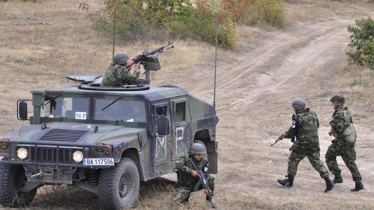 Армиите на България и САЩ проведоха съвместно учение
