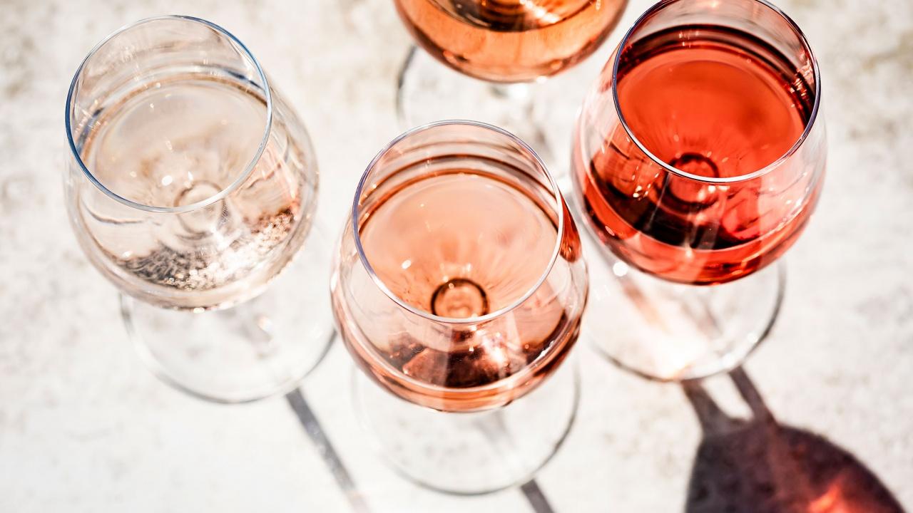Пием повече розе вина