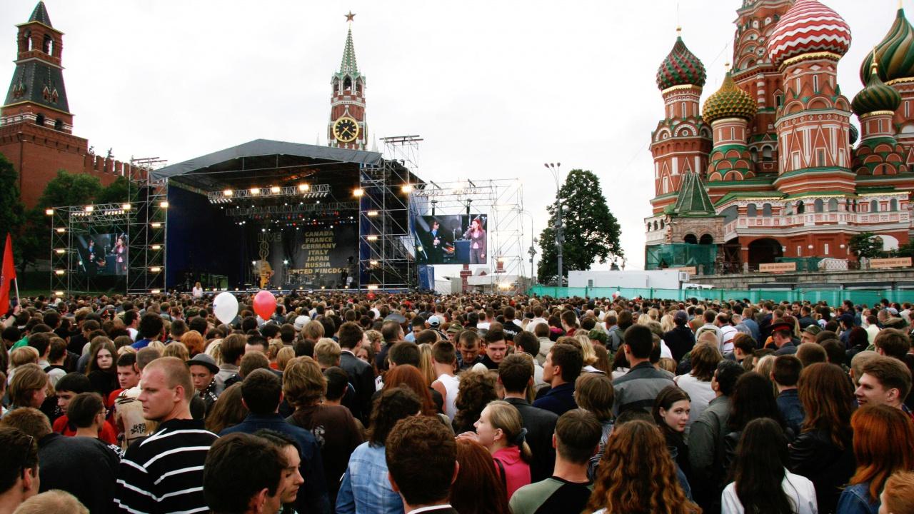 Руската опозиция критикува COVID концерт в Москва
