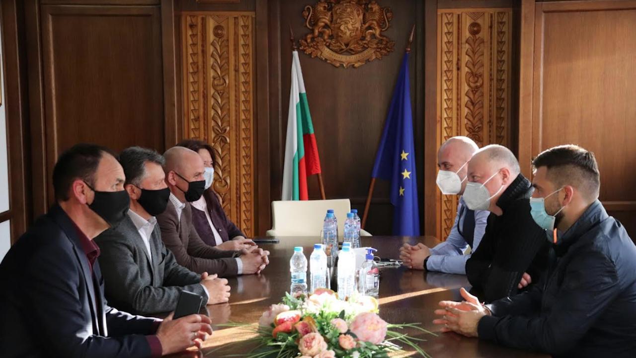 Кметът на община Банско се срещна с водача на листата на ПП ГЕРБ Росен Желязков