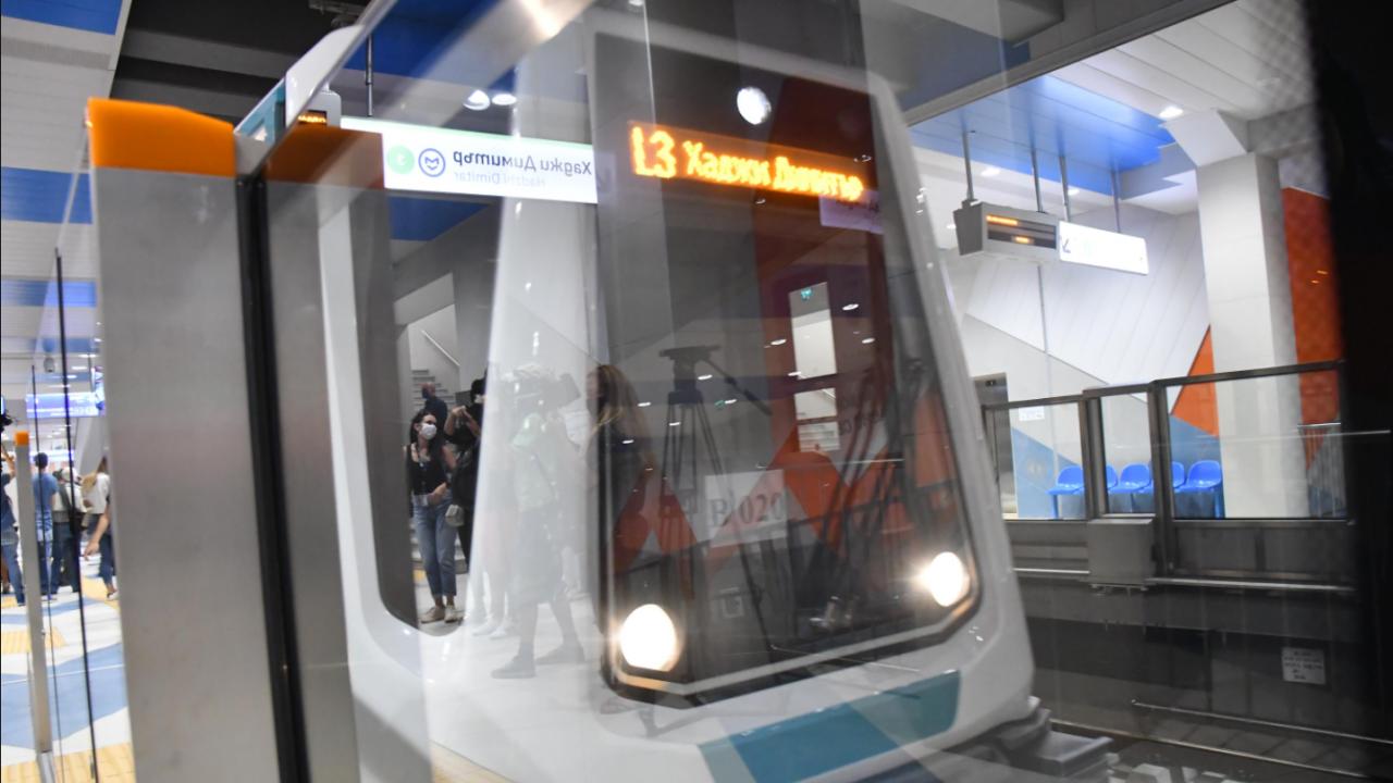 Третият лъч на метрото отново работи изцяло