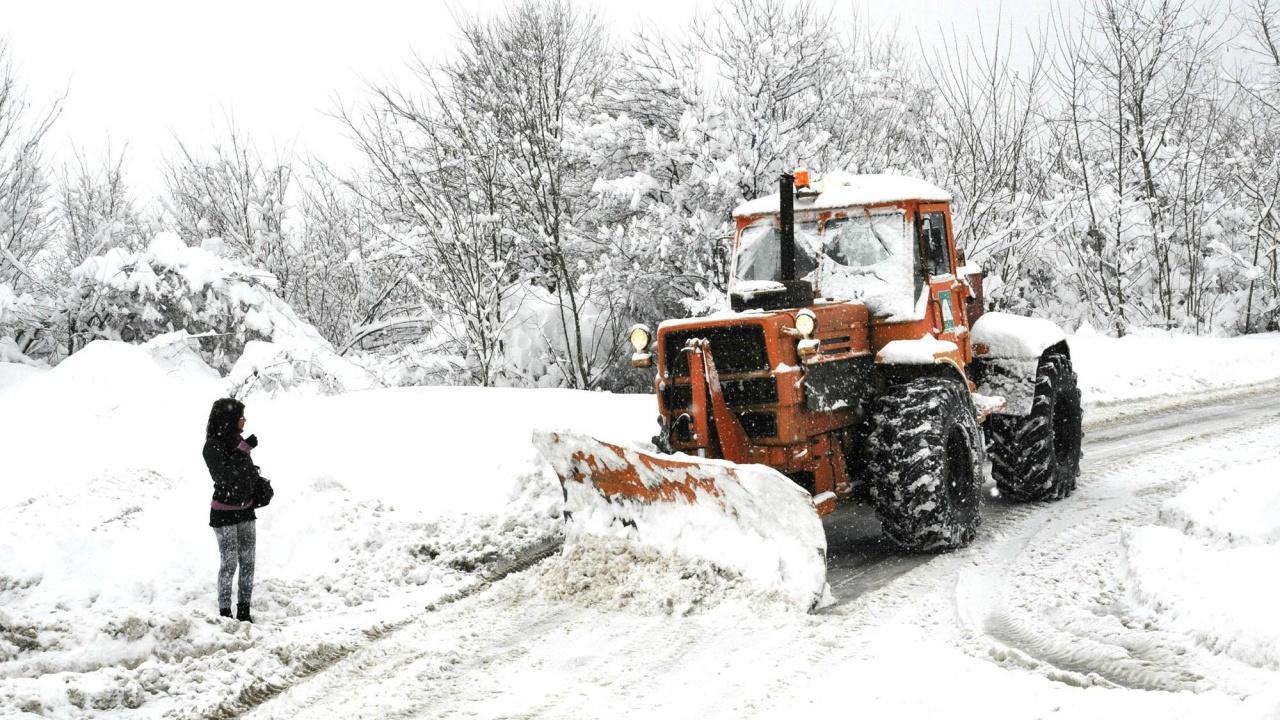 До един метър достига снегът в пернишкия дял на Витоша