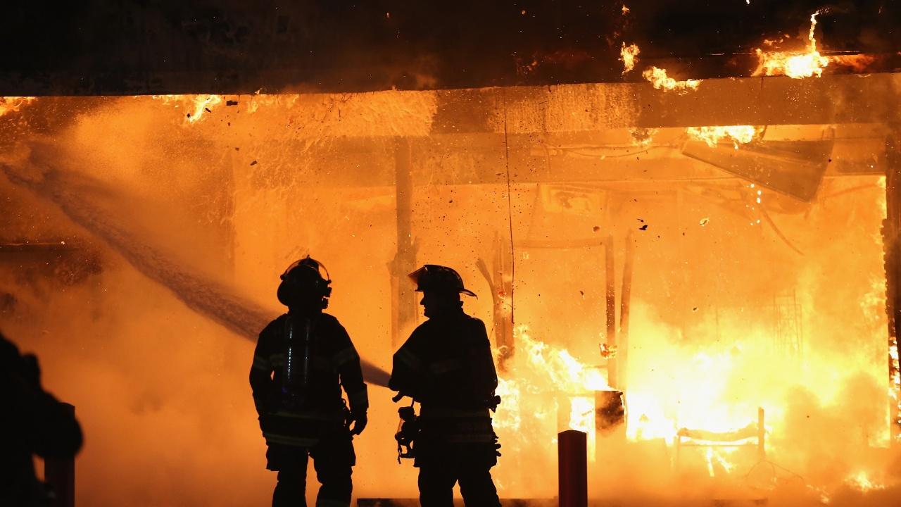 Пожар горя в сградата на бившия техникум в гр. Димово