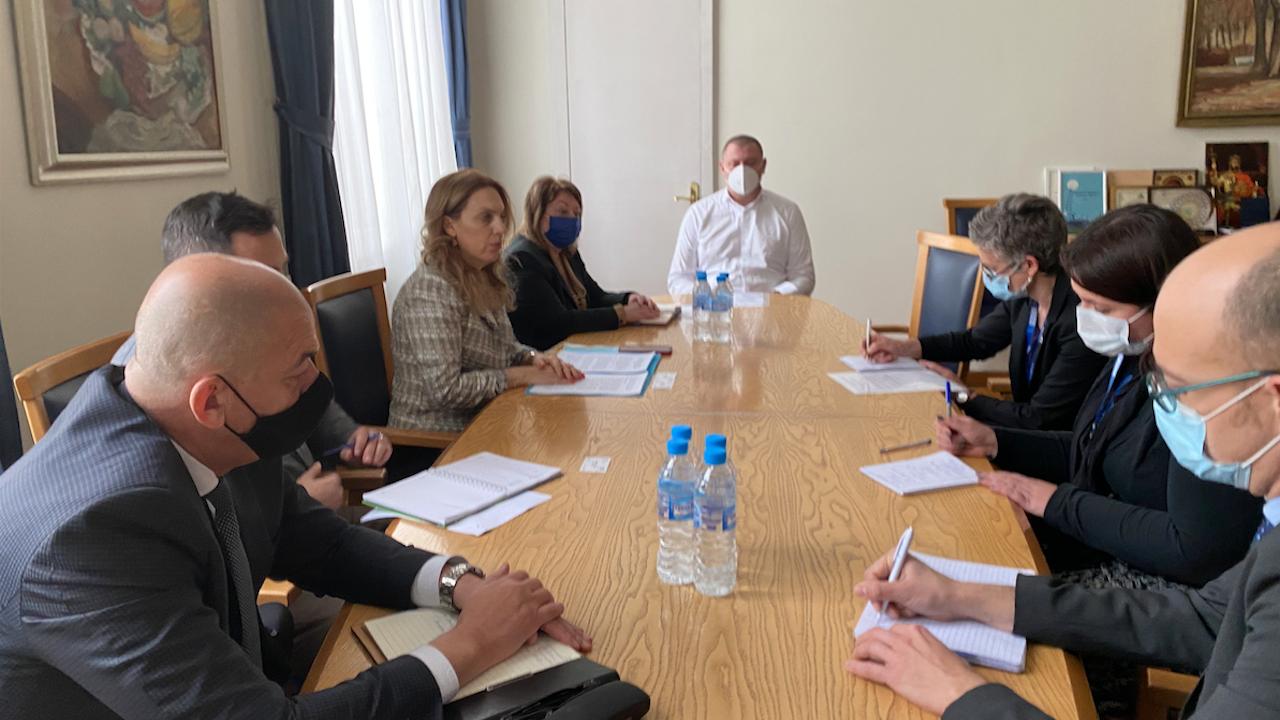 Марияна Николова се срещна с представителите на мисията на ОССЕ за наблюдение на изборите