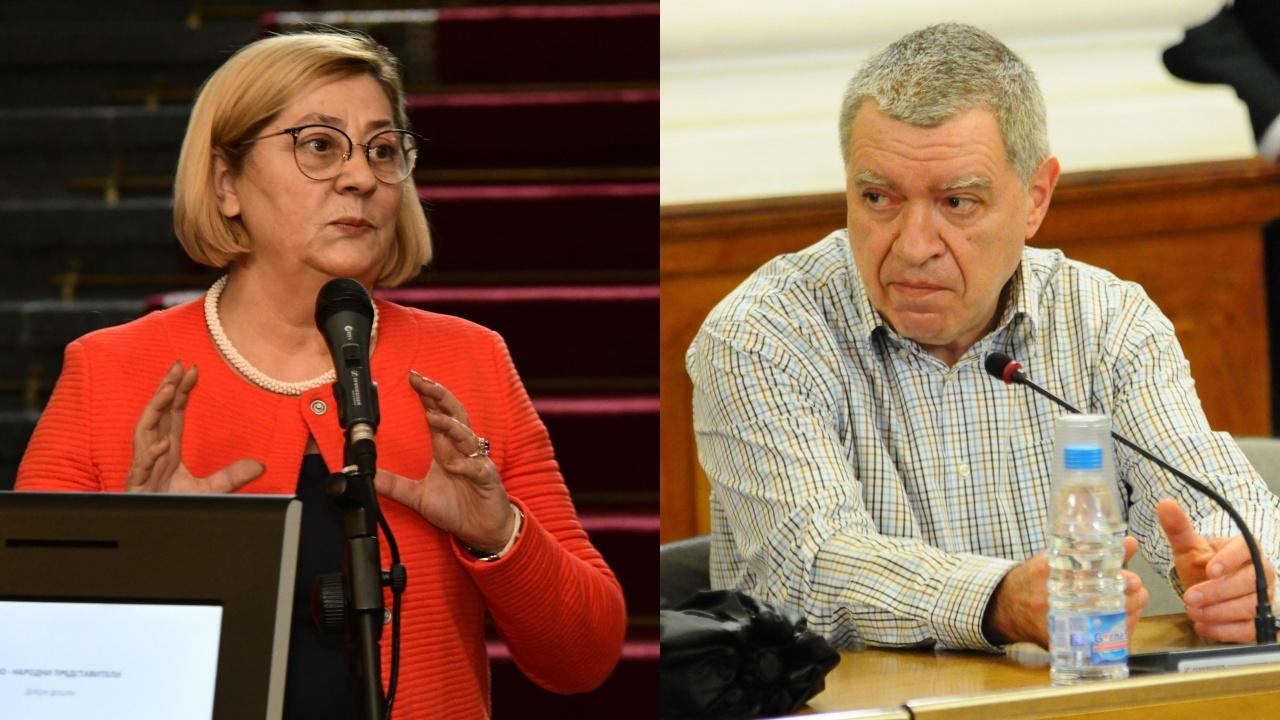 Говорителката на ЦИК и проф. Константинов в спор за изборните протоколи